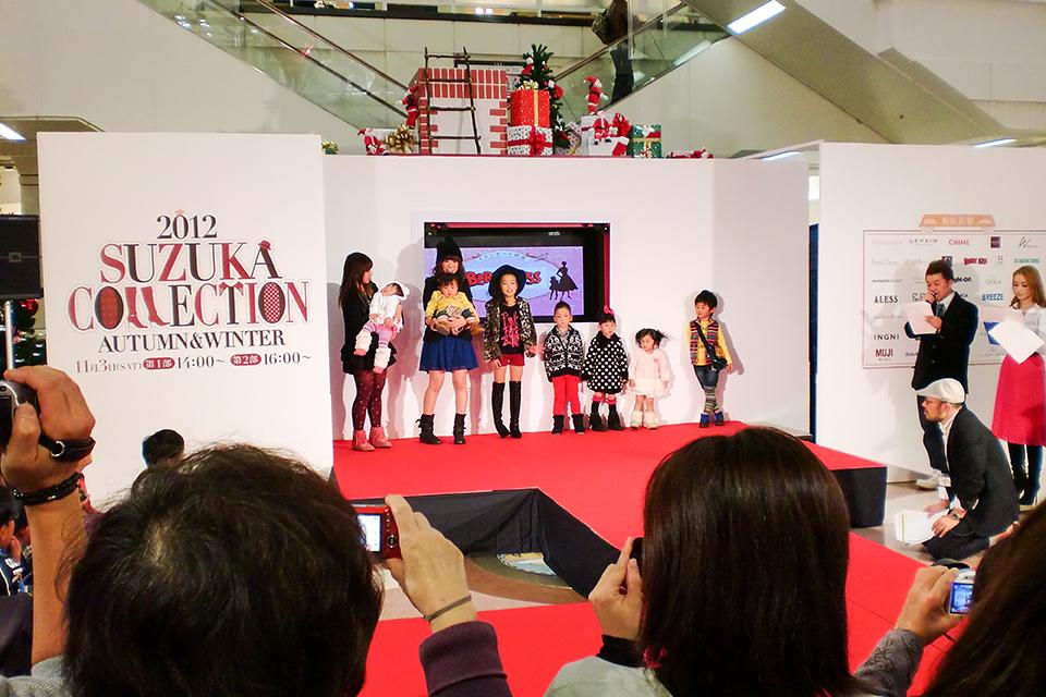 イオンモール鈴鹿 ファッションショー 2012