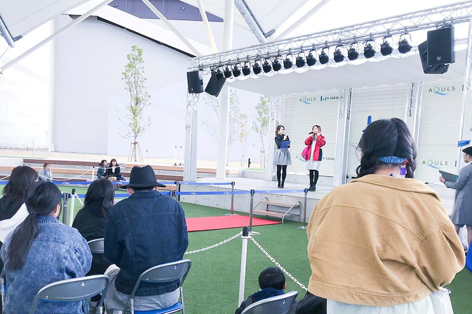 ららぽーと名古屋みなとアクルス×avex チャレンジステージ & コラボファッションショー