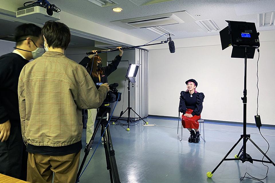 名古屋ビジュアルアーツ 講演会ゲストキャスティング